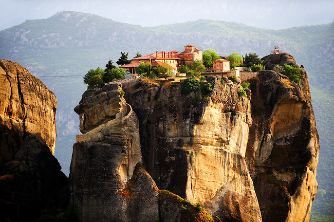 Agia Triada Monastery, Monasteries of Meteora, Thessalia, Greek Mainland,
