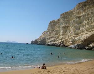 red-beach creta