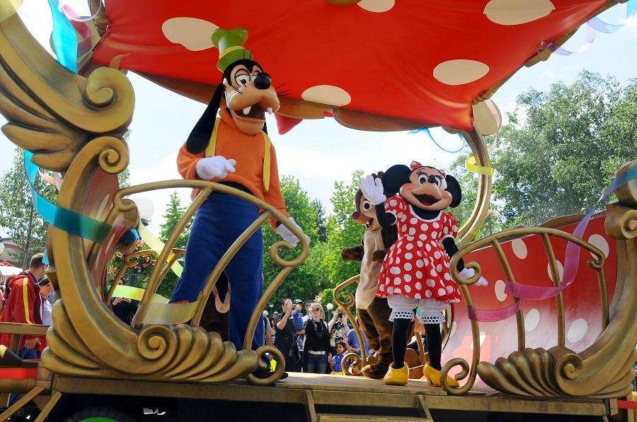 Disneyland Paris 2019 - Magia Personajelor Din Desenele Animate