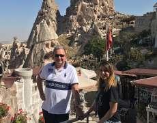 Alin Burcea si Ioana Burcea, Cappadocia  2018
