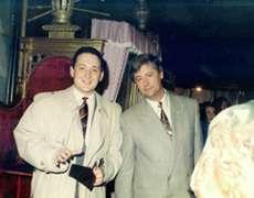 Alin Burcea si Adrian Grigorescu | Bucuresti 1990