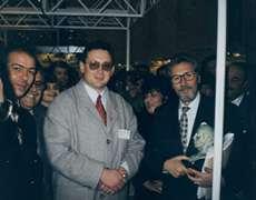 Impreuna cu Presedintele Romaniei Emil Constantinescu