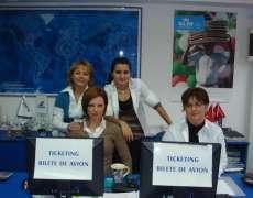 Echipa de Ticketing, agentia Elisabeta