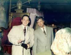 Alin Burcea si Adrian Grigorescu, 1990