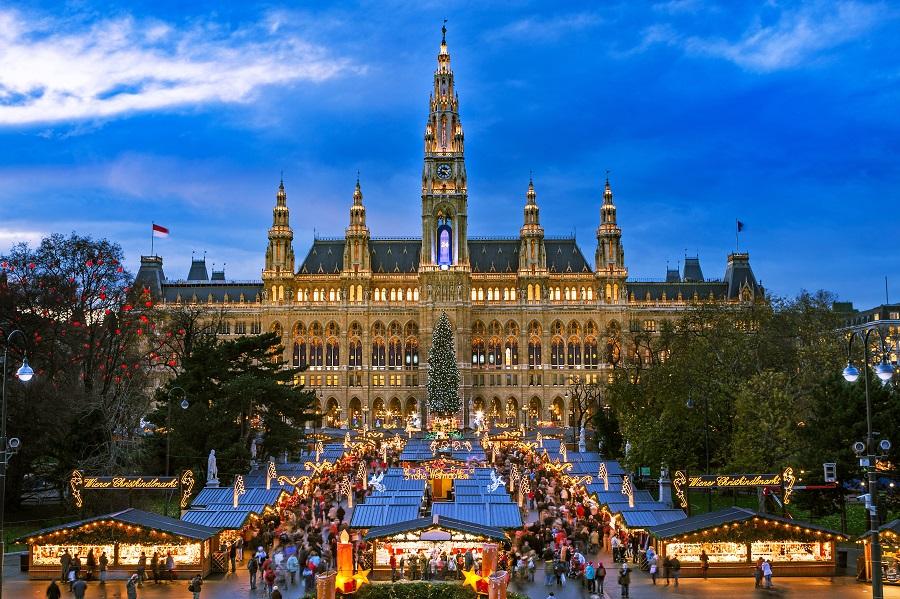 Viena 2021 - Piete De Craciun De 1 Decembrie