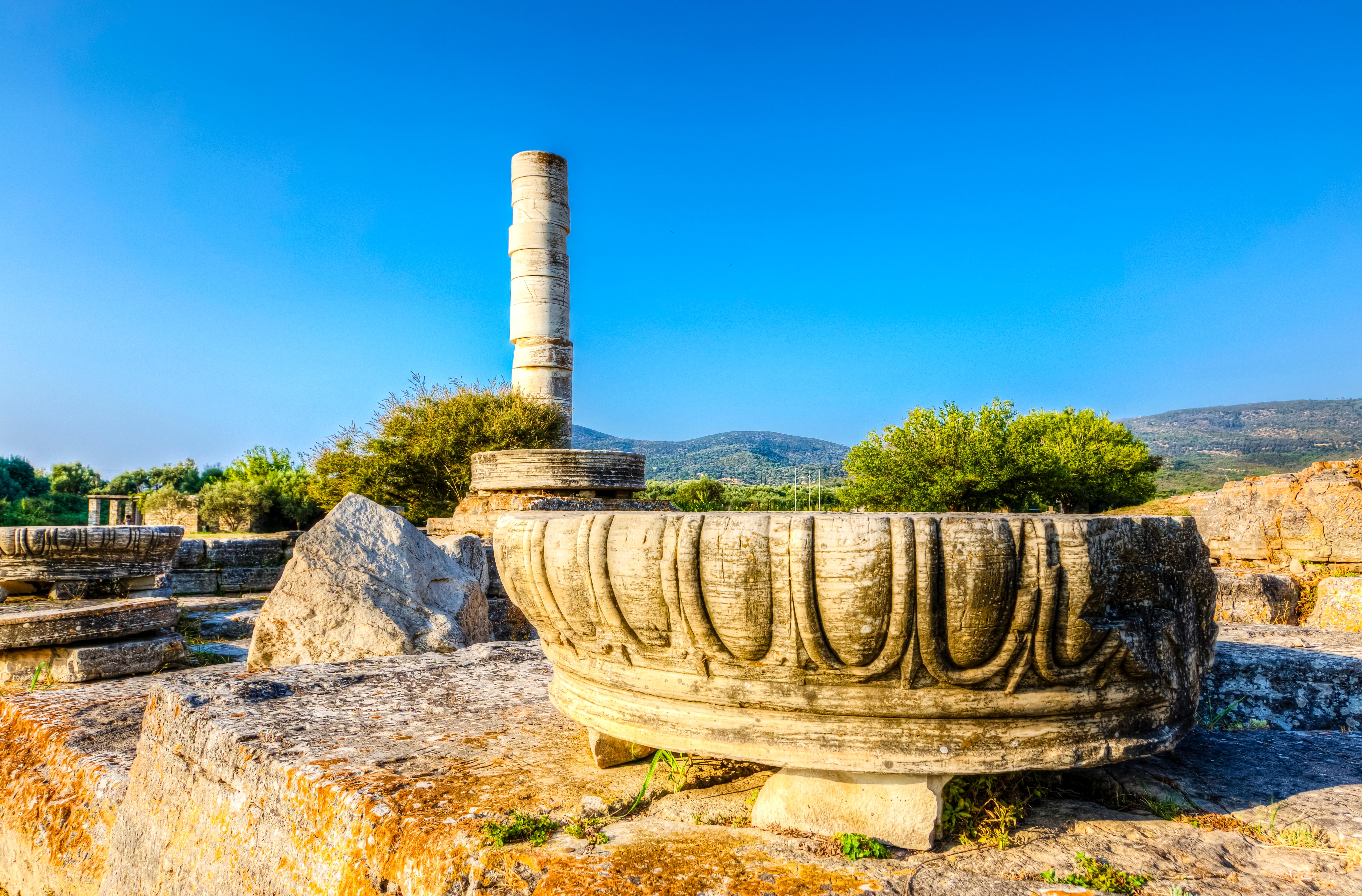 Heraion - Templul zeitei Hera